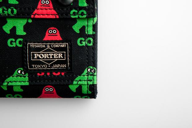 amos x porter wallets