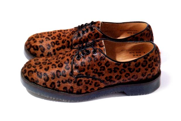 BAL x George Cox Leopard Oxford