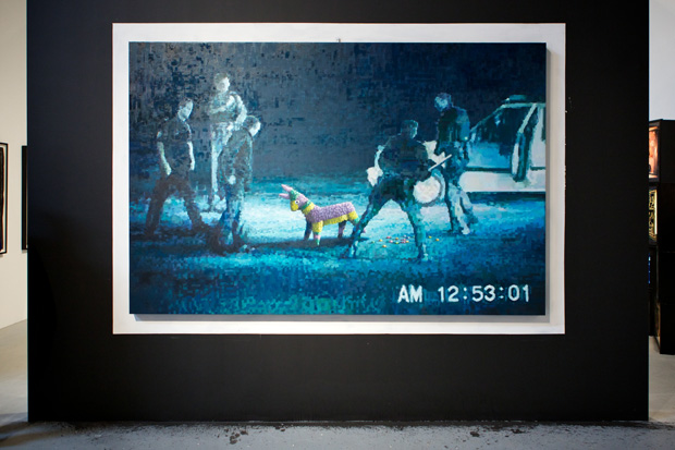 "Banksy at MOCA ""Art in the Streets"""