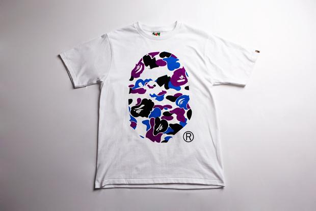 BAPE STORE Hong Kong Hysan Exclusive Camo T-Shirt