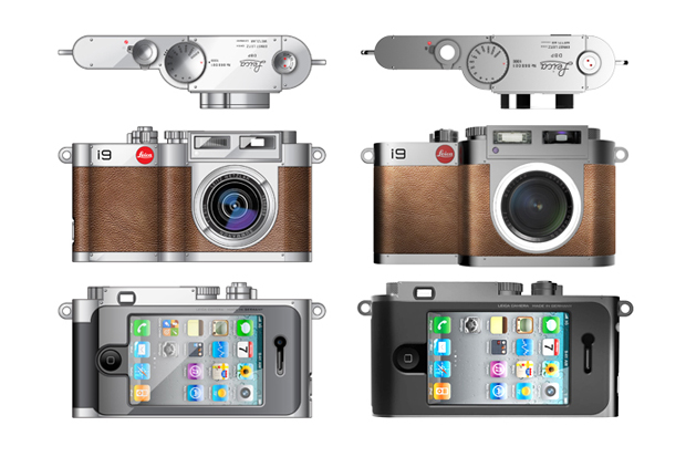 BlackDA Leica i9 Concept Camera for iPhone 4