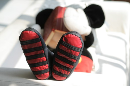"CLOT x Disney ""Homey Roomie"" Mickey Mouse Moccasin"