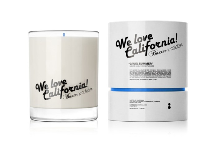 "colette x Baxter of California ""Cruel Summer"" Candle"