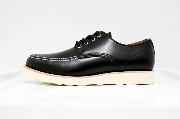 COMME des GARCONS Homme Plus Leather Oxford