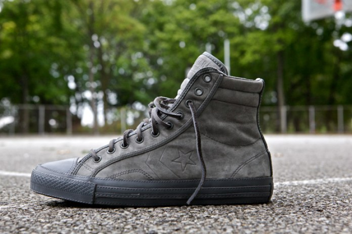Converse Grey Star Player 75 Hi Deluxe