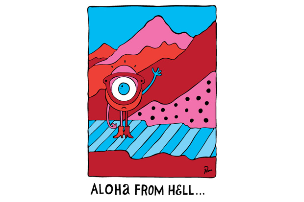 Darcel Disappoints FRIENDS: Aloha from hell with Parra