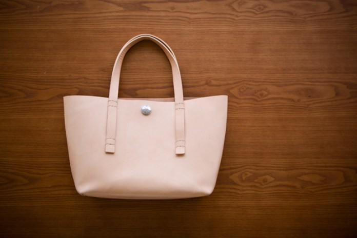 Flying Zacchinis Leather Tote Bag