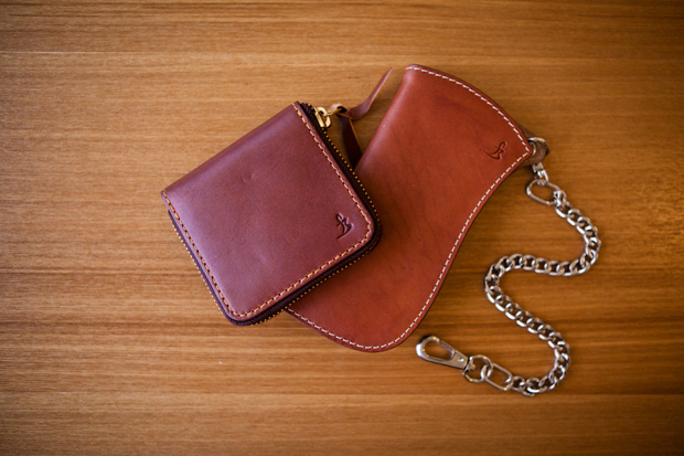 Flying Zacchinis Cowhide Wallets