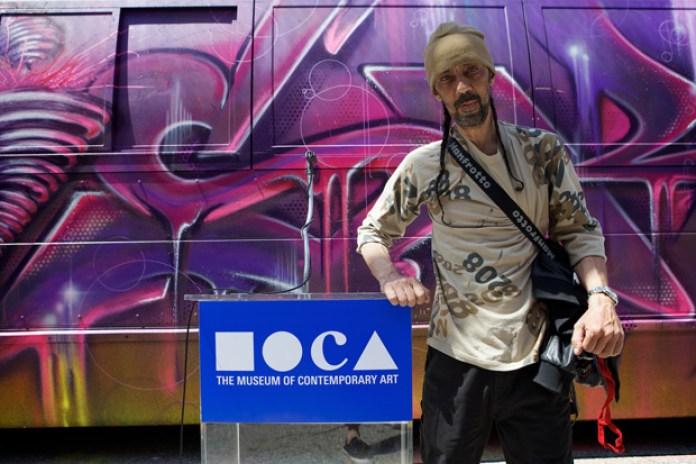 "Futura at MOCA ""Art in the Streets"""