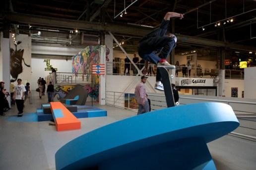 "Geoff McFetridge at MOCA ""Art in the Streets"""