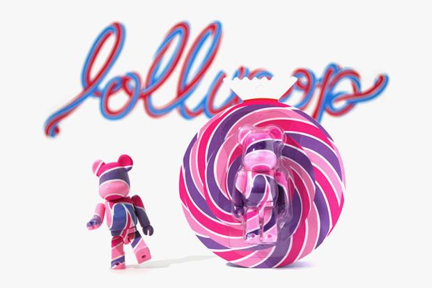 """GETTRY x Medicom Toy 100% Bearbrick """"Lollipop"""""""