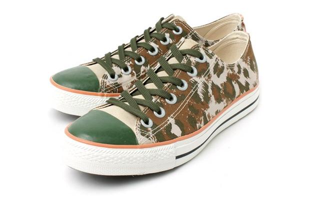 Goodhood x R. Newbold Camouflage Sneakers