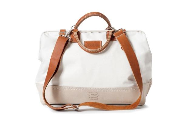 Heritage Leather x Apolis Mason Courier Bag