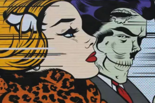 Juxtapoz: D*Face Mural in Los Angeles Time-Lapse Video