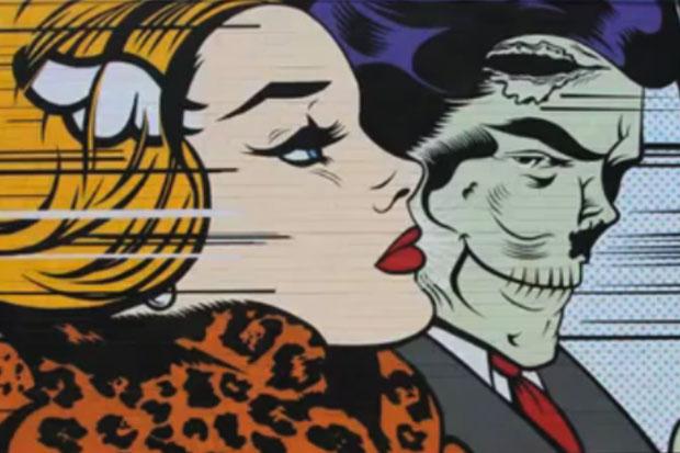 Juxtapoz: D*Face Mural in Los Angeles Time-Lapse Video