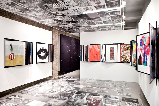 "Kathy Grayson ""POSTERMAT"" Exhibition @ 18 Hewett Street"