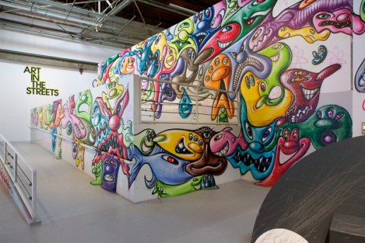 "Kenny Scharf at MOCA ""Art in the Streets"""