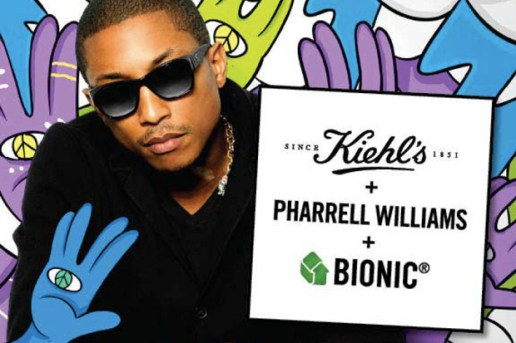 Kiehl's Bionic Yarn Tote Bag by Pharrell Williams