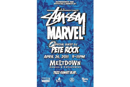 Marvel Comics x Stussy Launch Event @ Meltdown
