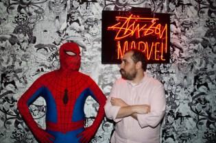 Marvel Comics x Stussy Launch Event Recap