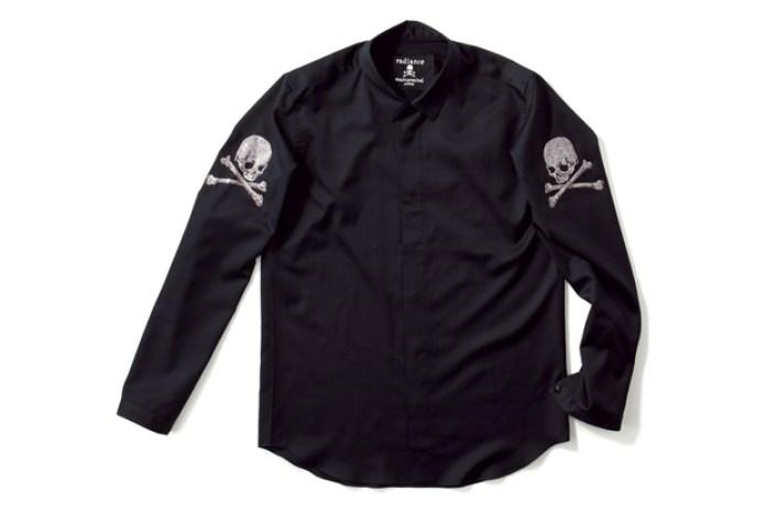mastermind JAPAN x Swarovski Elements Button-Up Shirt