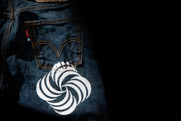 MeeH x Levi's 501 Washed Denim