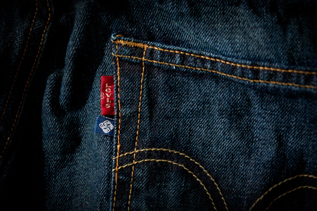 meeh x levis 501 washed denim