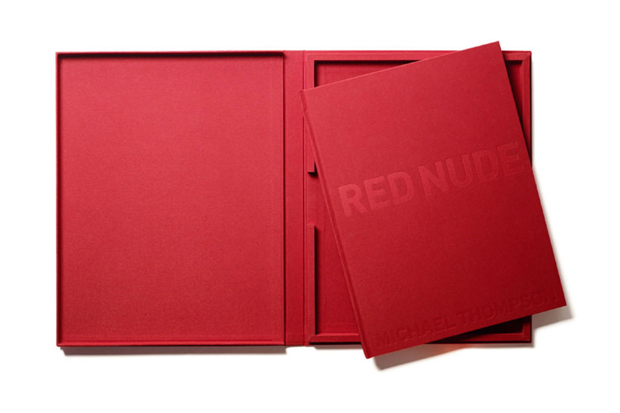 "Michael Thompson ""RED NUDE "" Book"