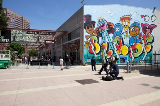"MOCA ""Art in the Streets"" Recap"