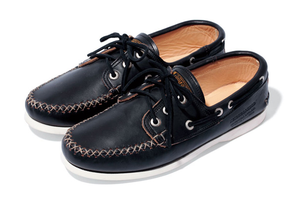 NEIGHBORHOOD x Quoddy Boat Shoe