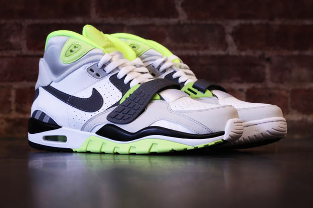 Nike Air Trainer SC II High White/Grey/Volt