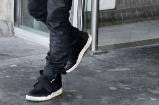 Kanye West Wearing Nike Air Yeezy II