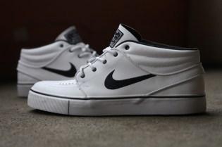 Nike SB Stefan Janoski Mid QS White/Black