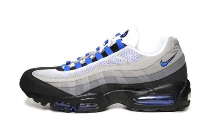 Nike Sportswear Air Max 95 White/Blue Spark