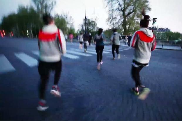 Nike Stadiums: GYAKUSOU Run by Paris Running Club