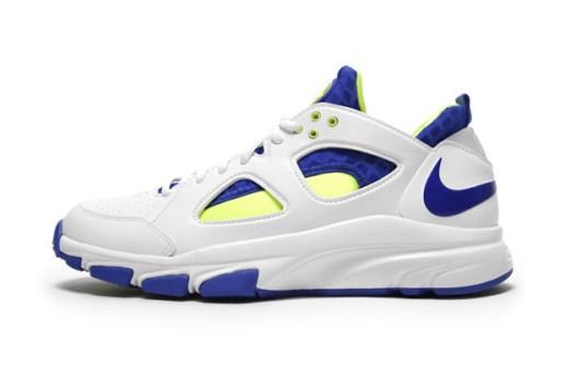 Nike Zoom Huarache Trainer Low White/Varsity Royal-Volt