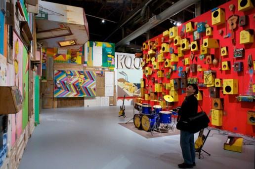 "Os Gêmeos at MOCA ""Art in the Streets"""