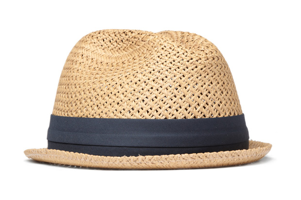 rag & bone Straw Fedora Hat