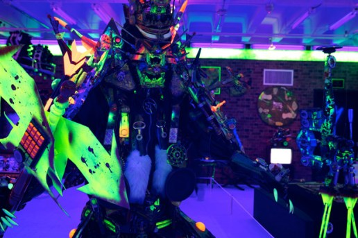 "Rammellzee at MOCA ""Art in the Streets"""