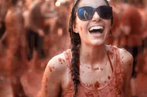 "Ray-Ban Never Hide ""Tomatina"""