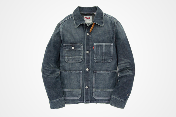 Red Tab Levi's Original Jeans Light Weight Denim Sack Jacket