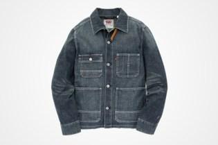 Red Tab Levi's Original Jeans Light Weight Denim Sack Jacket