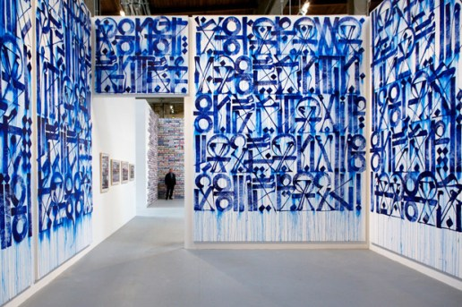 "Retna at MOCA ""Art in the Streets"""