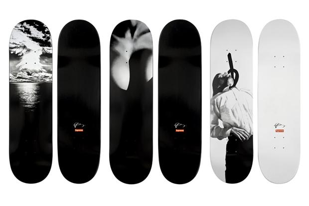 Robert Longo for Supreme Skateboards
