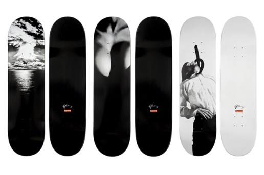 Robert Longo for Supreme Skateboards