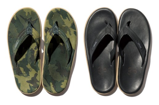 SOPHNET. x Island Slipper Sandals