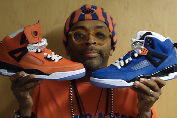 "Spike Lee ""Player Exclusive"" New York Knicks Jordan Spiz'ikes"
