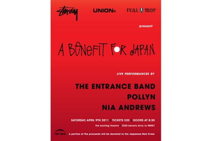 Stussy, Union, Feal Mor & UNDFTD Present: A Benefit for Japan