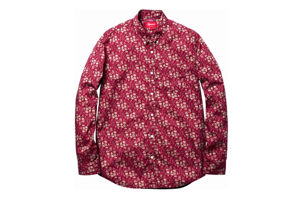 Supreme x Liberty Print Shirt