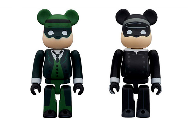 The Green Hornet & Kato Medicom Toy Bearbrick 100% Pack
